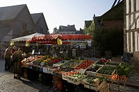Honfleur market,France