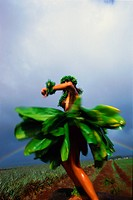 Hula Dancer Spinning