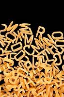 alphabet pasta