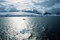 Sea in Antarctica Landscape