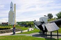 Ariane 5 mock_up, theme park, Cite de l\´Espace, Museum of Technology, Toulouse, Department Haute_Garonne, Midi_Pyrenees, France / City of Space