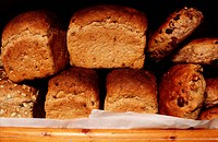 Brown Bread and Rolls, The Village Bakery, Cumbria
