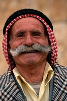 Portrait of Smiling Palestinian Man
