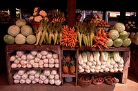 Balinese Produce Stand