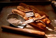 French Bread at Bakery