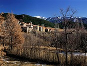 The small town of Travesseres lies nestled in the hills and mountains of La Cerdanya region of Catalonia, Spain.
