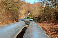 industrial oil pipeline