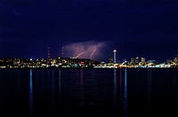 Lightning in Seattle