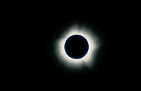 Corona Around a Total Solar Eclipse