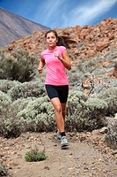 Running _ Woman trail runner