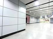modern metro station