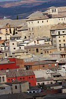 Old town view, Toledo, World Heritage Site by UNESCO,Castilla La Mancha, Spain, Europe
