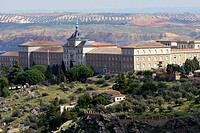 Infantry Academy, Toledo, World Heritage Site by UNESCO, Castilla La Mancha, Spain, Europe
