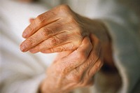 Old Woman´s Hands