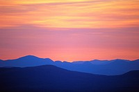 White Mountains at Sunset