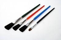 four brushes