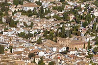 View of Albaicín quarter,Granada Andalusia, Spain