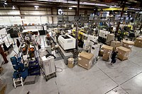 A plastics molding injection plant in Hudson, Colorado, USA