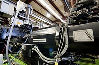 A plastics molding injection machine in Hudson, Colorado, USA