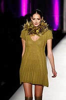 27/10/11 Athens Greece  Greek designer Aslanis presents his work at Athens Fashion Week Spr/ Sum 2012