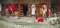 Bazaar Souvenir Shops Kruja Albania