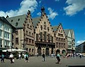 Frankfurt Romer Area, Germany