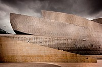 Exterior Detail, Guggenheim Museum, Bilbao, Spain