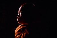 Child in Orange Robe