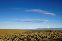 USA, Oregon, Desert landscape