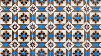Portuguese glazed tiles 133