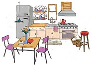 Kitchen Interior (thumbnail)