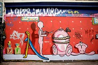 Graffiti People _ Brick Lane.