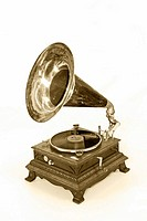 An old record player, Gramophone