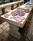 Split, Croatia,Fresh Seafood,city market,
