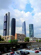 Spain, Madrid, Cuatro Torres, Four Towers Business Area                                                                                               ...