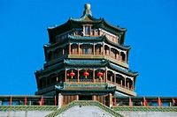 Pagoda of the Incense of Buddha at the Summer Palace in Beijing.
