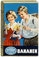 DIG Germany, around 1929, banana advertisement, advertisement, bananas, mark Fyffes, school children, eat, recover, nutrition, fruit, children, vitami...