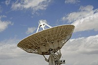 Part of the Very Large Array Radio Telescope