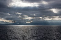 Isle of Arran stormclouds