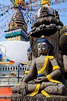 Buddha Figure, Kathe Simbhu, Kathmandu, Nepal