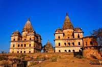 Chhatris, Orchha, Madhya Pradesh, India