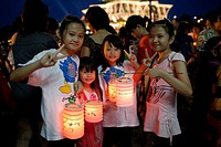 Mid-Autumn Mooncake Festival 2011 at Kuching Waterfront, Sarawak, Malaysia