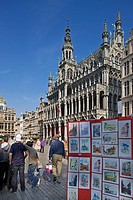 The Maison du Roi / King´s House or Broodhuis / Breadhouse at the Grand Place, Brussels, Belgium