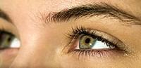 Woman´s eyes.