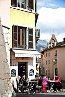 Downtown of Annecy, Haute Savoie, France