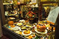 Halloween themed cakes Via Monte Napoleone street Quadrilatero d´Oro district central Milan Lombardy region Italy Europe