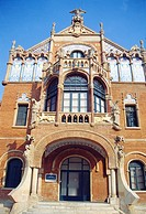 Sant Pau i Santa Creu hospital. Barcelona, Catalonia, Spain.