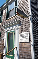 Falmouth´s Conant House Museum, in a house built around 1730, includes an exhibit on the town´s whaling industry history  Falmouth, Cape Cod, Massachu...
