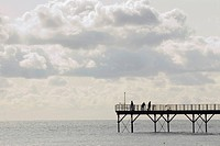 Pier off the seaside community of Bognor Regis