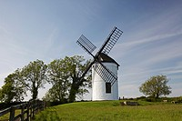 Ashton Windmill at Chapel Allerton, Somerset, England, UK
